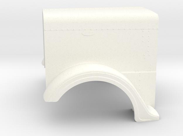 1/24 Optimus Prime hood part for italeri peterbilt in White Strong & Flexible Polished: 1:24