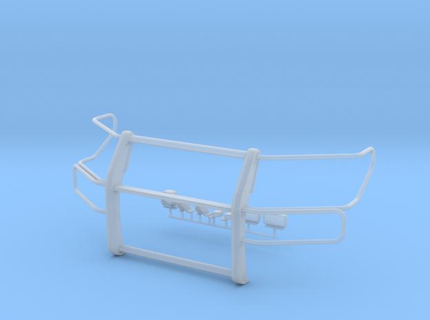 1/24 scale  interceptor Pushbar w/ Lightguards in Smooth Fine Detail Plastic