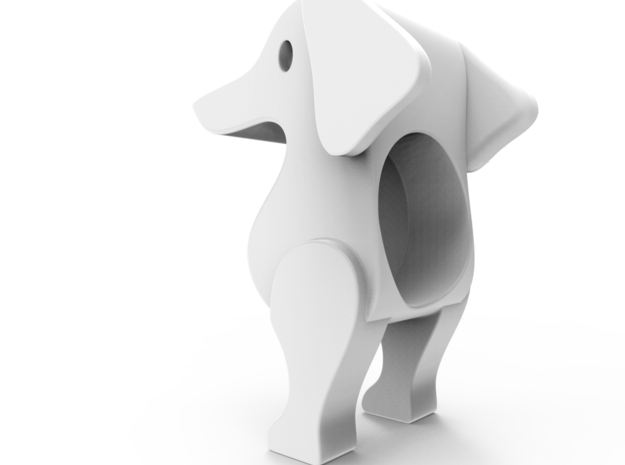 DOG(Head) in White Strong & Flexible: Small