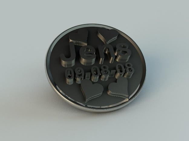 Chunk Heart Jensdef 3d printed chunk3