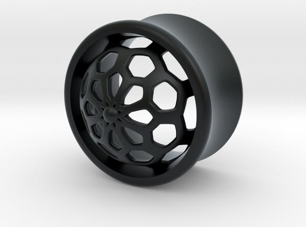 VORTEX1-17mm in Black Hi-Def Acrylate