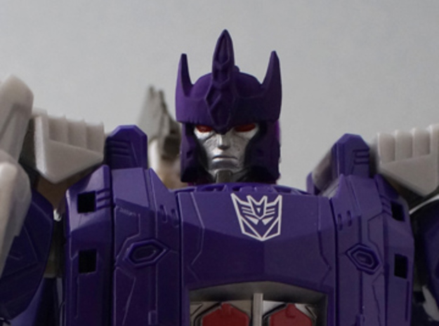 Galvatron for titans return in Frosted Extreme Detail