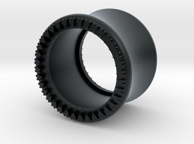 VORTEX10-13mm in Black Hi-Def Acrylate