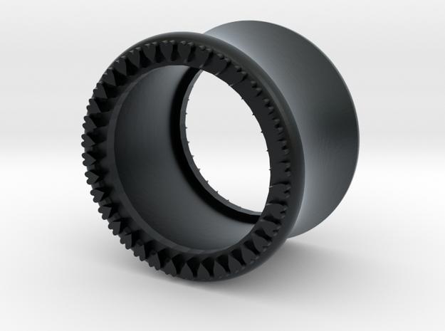 VORTEX10-14mm in Black Hi-Def Acrylate