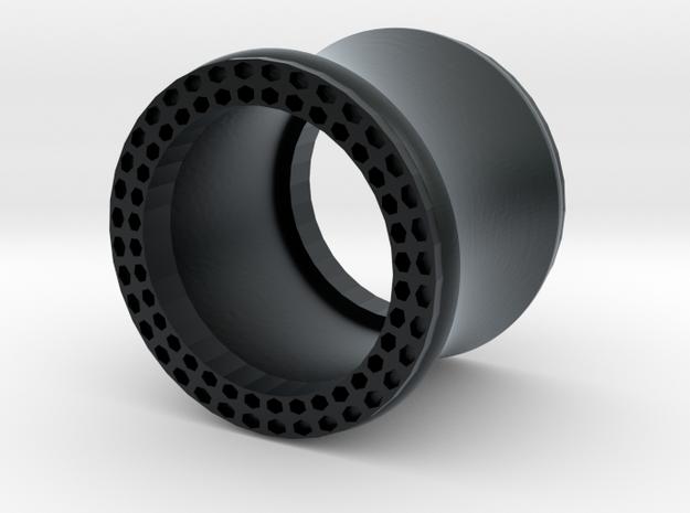 VORTEX11-11mm in Black Hi-Def Acrylate