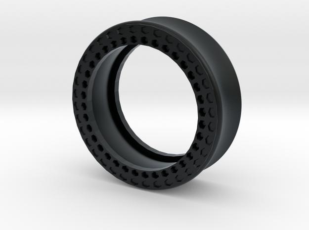 VORTEX11-31mm in Black Hi-Def Acrylate