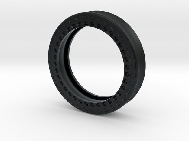 VORTEX11-51mm in Black Hi-Def Acrylate