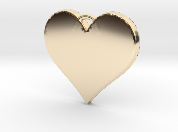 With All My Heart in 14k Gold Plated