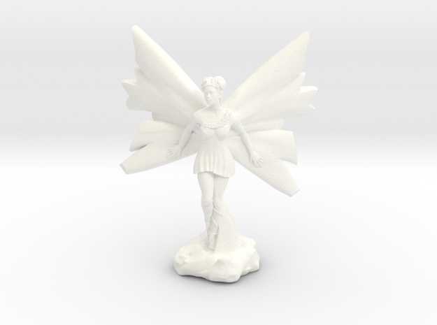 Fairy with large wings, in flight 30mm scale
