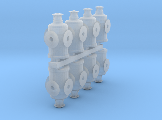 HO Scale Switch Lanterns in Frosted Ultra Detail