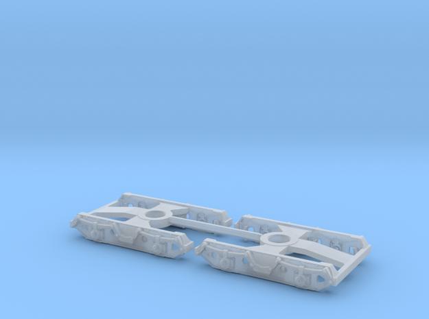 7141 N 2 Drehgestelle Minitrix KKds 55 und Kesselw 3d printed