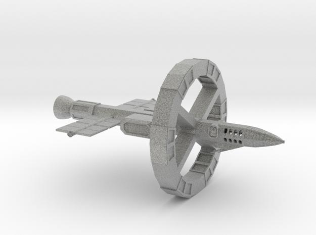 Odyssey-Class testbed in Metallic Plastic