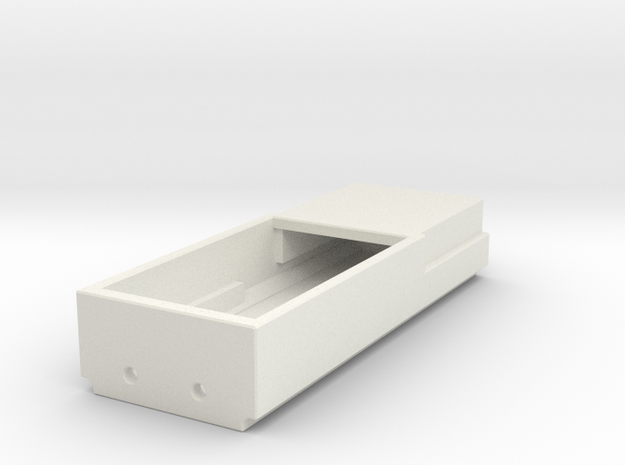 Kato ES44AC Speaker Box (1 Piece) (N-Scale) in White Natural Versatile Plastic