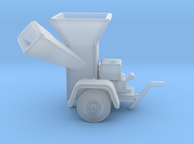 WoodChipper-Yard HO 87:1 Scale in Smooth Fine Detail Plastic