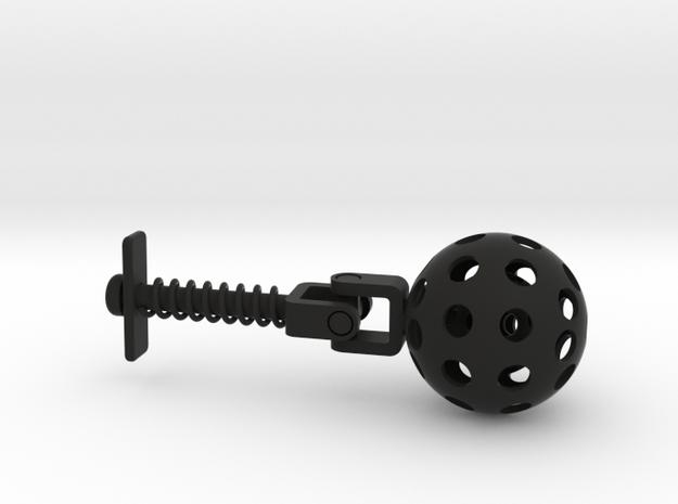 3D Printing Educational Fidget in Black Natural Versatile Plastic