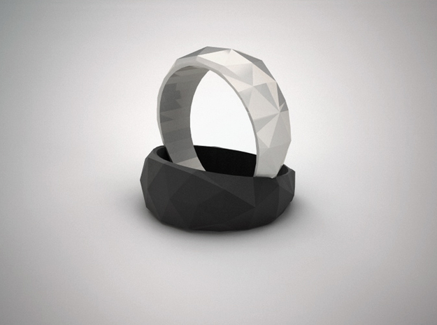 Edra Ring - 6.75 3d printed Render