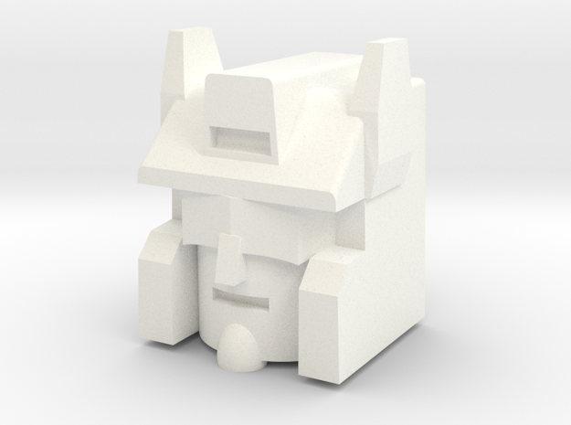 Scattershot in White Processed Versatile Plastic