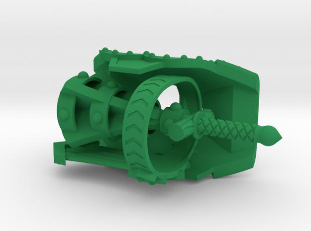 ROTU Armor Set  in Green Processed Versatile Plastic