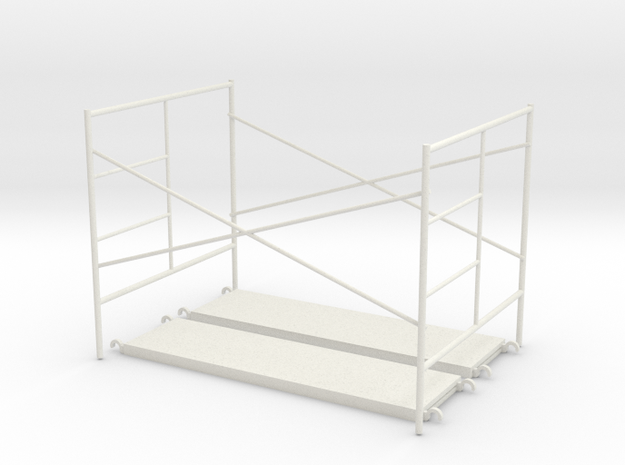 1:24 Assembly Step Frame 60x84x60 in White Natural Versatile Plastic