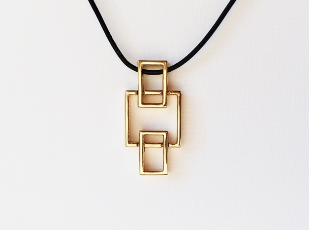 Pendant - Interlocking Geometry