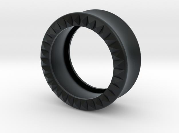 VORTEX9-25mm in Black Hi-Def Acrylate