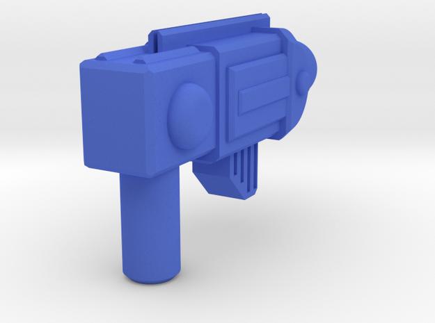 ROTU Skeleton Gun  in Blue Strong & Flexible Polished