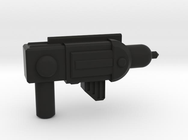TEWOJ Blaster Pistol in Black Natural Versatile Plastic