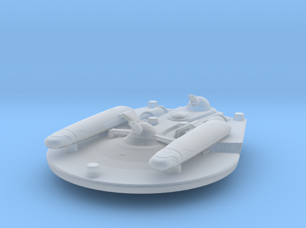 USS Trieste NCC-37124 Attack Wing in Smooth Fine Detail Plastic