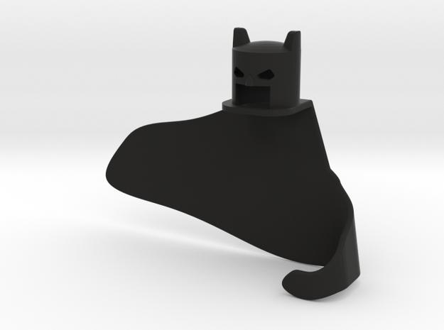 Bats3 in Black Natural Versatile Plastic