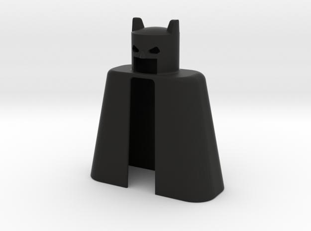 Bats2 in Black Natural Versatile Plastic