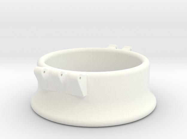 Ccage-bell 42-20 in White Processed Versatile Plastic