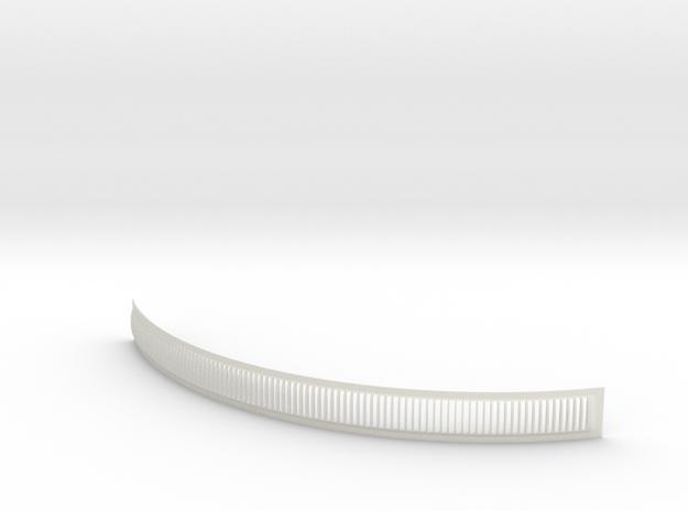 DeAgo Millennium Falcon Engine Grill fins curve in White Strong & Flexible