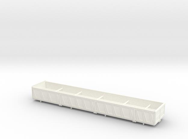 HO - Tecnokar Titanic - DUMP BODY in White Strong & Flexible Polished