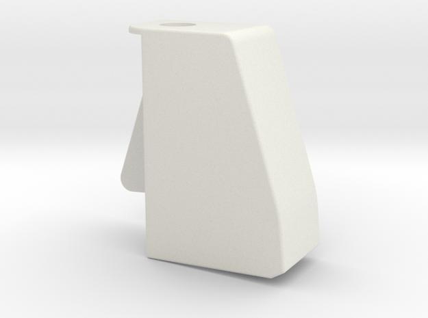 Cape1 in White Natural Versatile Plastic