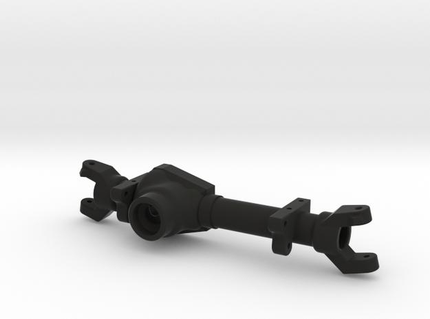 TM8 Front Leaf Left Drop Axle Housing in Black Natural Versatile Plastic