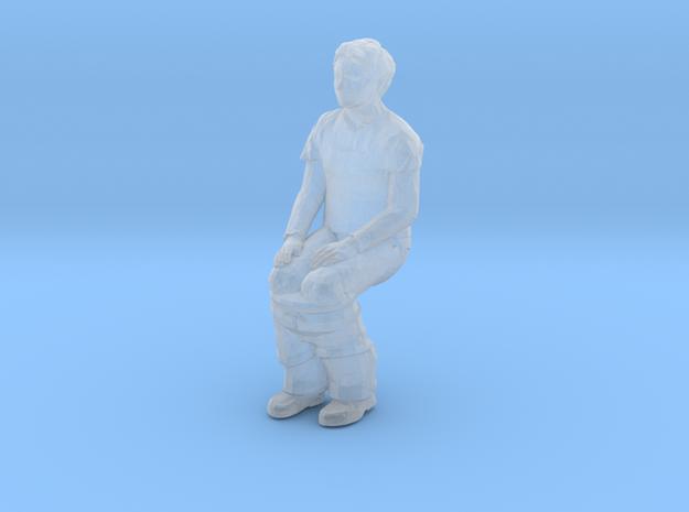 Porta Potty Pete in Smoothest Fine Detail Plastic: 1:64 - S