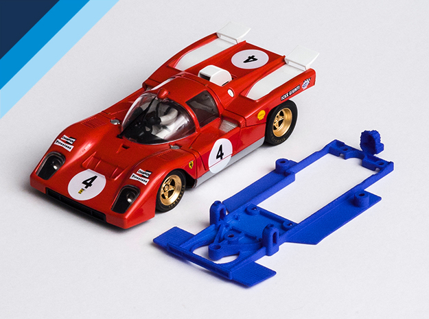 1/32 Spirit Ferrari 512M Chassis for Slot.it pod