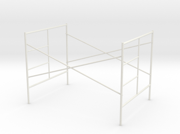 1:24 Step Frame Assembly 60x84x60 in White Natural Versatile Plastic