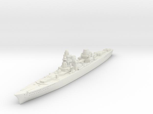P-Class German Cruiser (GW36) in White Natural Versatile Plastic