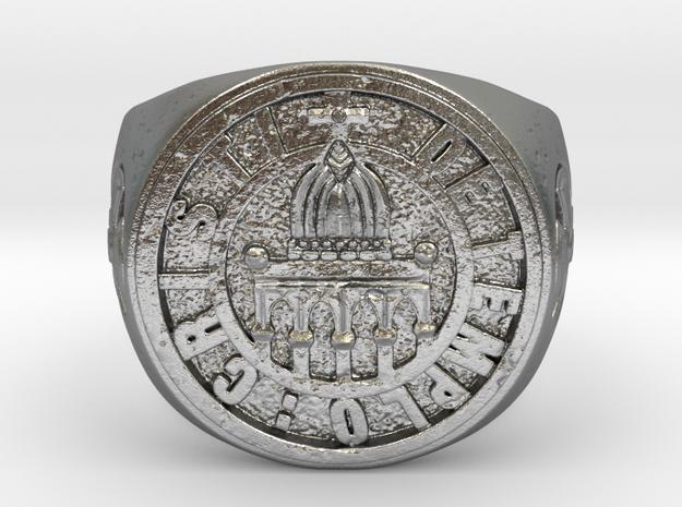 De Templo Cristi in Natural Silver