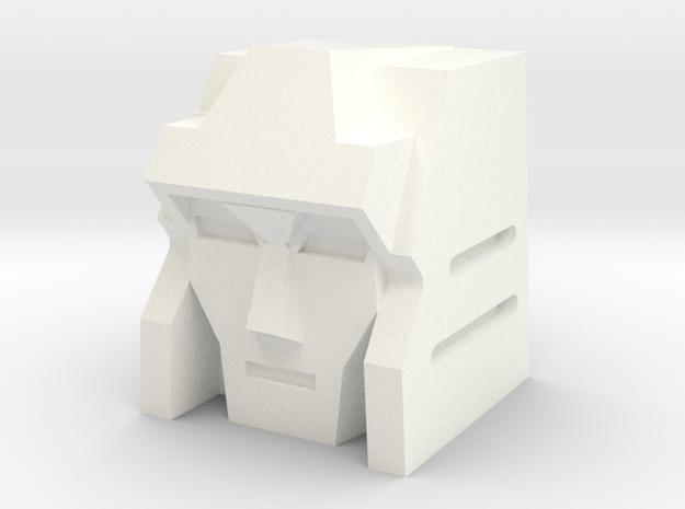 Breakdown in White Processed Versatile Plastic