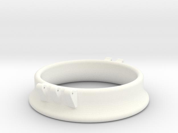 Ccage-bell 53-15 in White Processed Versatile Plastic