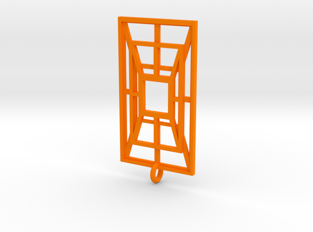 Weaved Metal in Orange Strong & Flexible Polished
