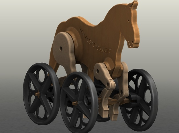 Horse Toy Www.endtas.com 3d printed