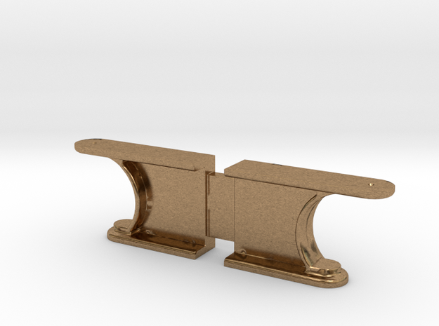 Mogul - Rear Cab Support .625 Plus 1% in Natural Brass