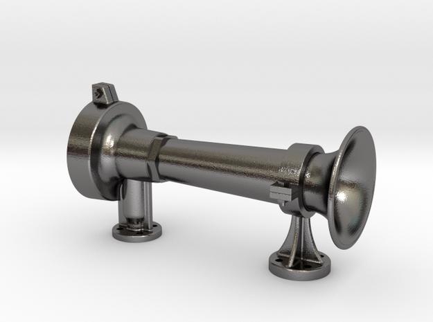 "Tyfon 200A front bracket 1.6"" scale in Polished Nickel Steel"