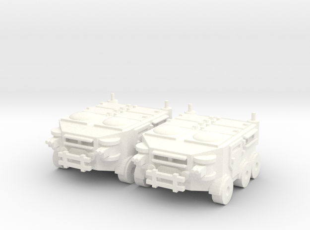 Heavy APC in White Processed Versatile Plastic