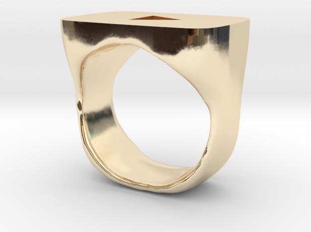 YouTube Ring in 14K Yellow Gold
