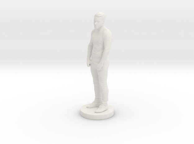 Printle C Homme 119 - 1/24 in White Natural Versatile Plastic