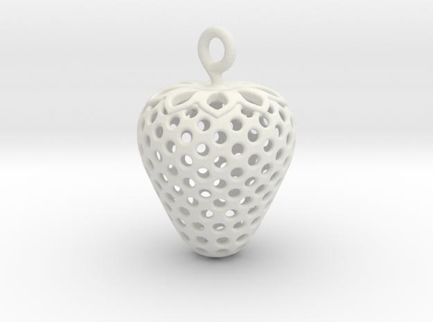 Strawberry 1611261305 in White Natural Versatile Plastic